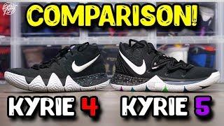 Nike Kyrie 5 \u0026 Kyrie 4 Comparison