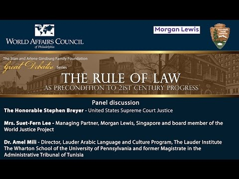 The World Affairs Council Presents - Great Debates: Rule of Law