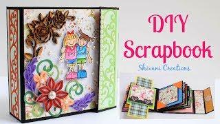 How to make Scrapbook / Scrapbook Introduction Video