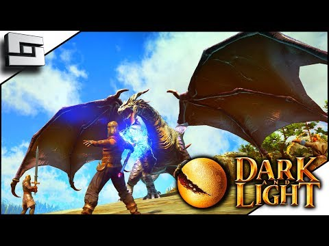 Dark and Light  ARK WITH MAGIC?! Ep 1