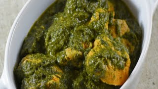 Palak Chicken Recipe / Spinach Chicken Recipe / How to make Palak Chicken Cook With Azma