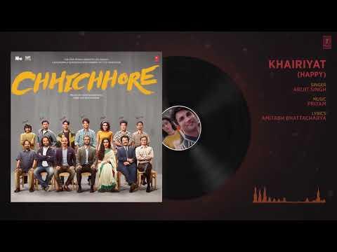Download Lagu  Full Audio: Khairiyat Happy | CHHICHHORE | Sushant, Shraddha | Pritam, Amitabh Bhattacharya Mp3 Free