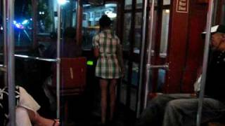 New Orleans Midnight Streetcar Saint Charles, Canal Street - Jackson Av., 05-28-2010