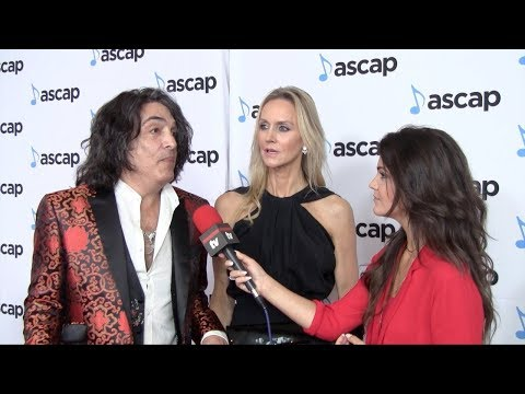 Paul Stanley Interview 35th Annual ASCAP Pop Music Awards Red Carpet