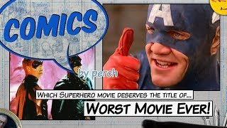 The very worst Superhero movies