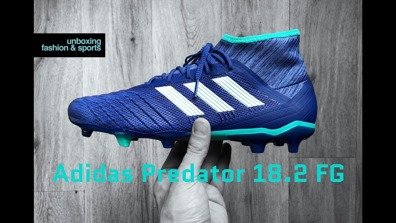 6aefcb48f9ac Adidas Predator 18.2 FG 'Deadly Strike Pack' | UNBOXING & ON FEET |  football boots | 2018 | 4K