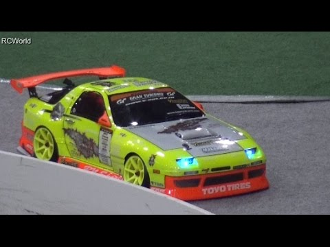 RC Drift Cars Drift Show Prague 2015 ♦ Modellbaumesse Prag Veletrhu Praha PVA Expo Model Building