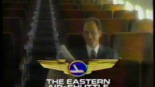 New York WPIX Channel 11 and Eastern Airlines Shuttle Commercial