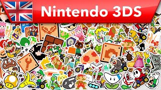 Nintendo Badge Arcade - Trailer (Nintendo 3DS)
