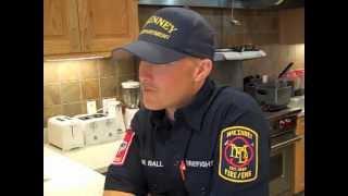 Kyra's Kitchen:  Mckinney Firehouse Recipes Part 2 -- Matt Ball -- Fire Station #8.mov