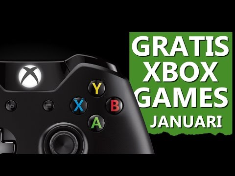 These are the FREE XBOX GAMES in JANUARY