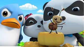 رسوم متحركة متنوعة -كعك القمر ! | كرتون للاطفال | بيبي باص | BabyBus Arabic