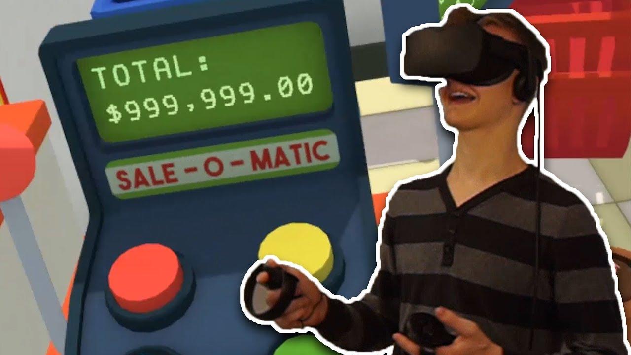 Der 999,999$ Einkauf!! - Job Simulator - Virtuelle Realität - Oculus ...