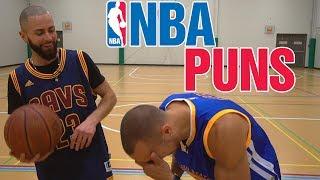 Basketball puns! (Golden State vs Cleveland)   The Pun Guys