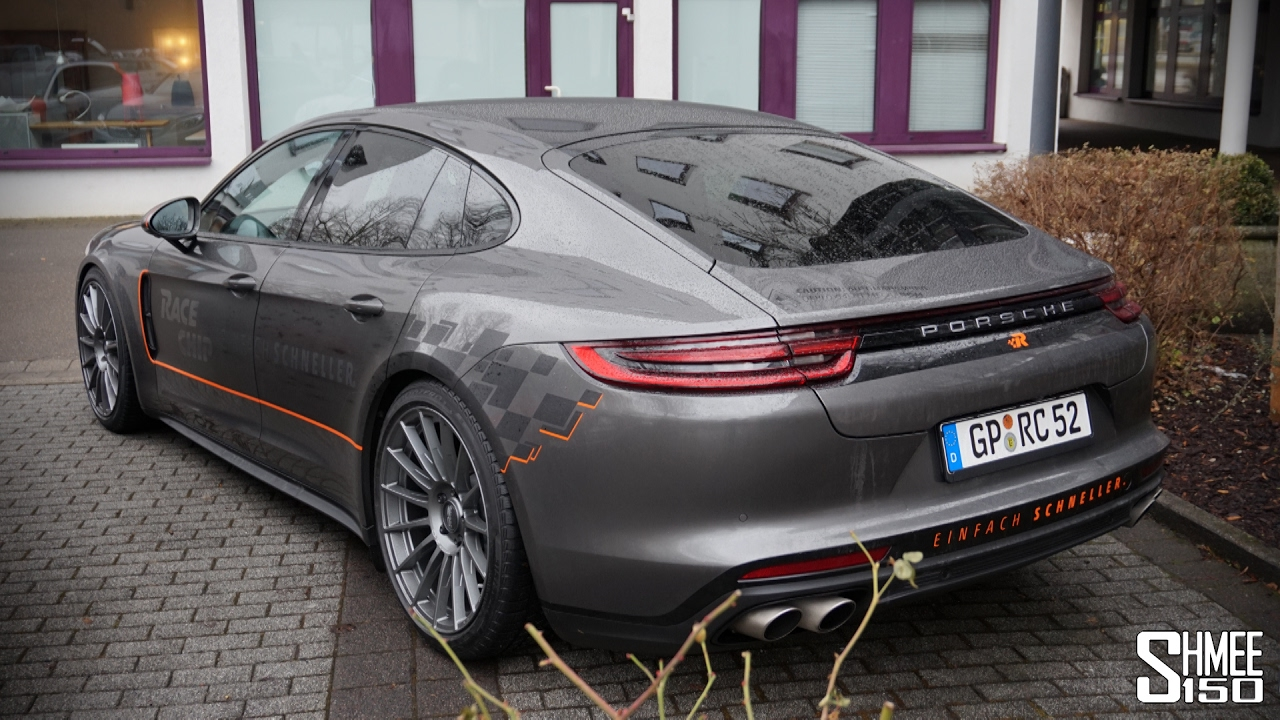 picking up a new porsche panamera 4s diesel youtube. Black Bedroom Furniture Sets. Home Design Ideas