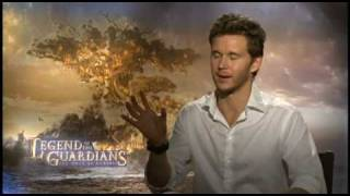 "Ryan Kwanten talks about the mythology of both ""Legend of the Guardians"" and ""True Bl"