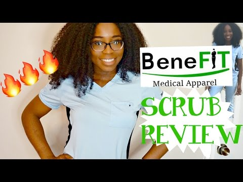 HAPPY NURSES WEEK + BENEFIT SCRUB REVIEW II JustChi