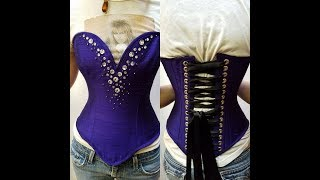 Drafting your own CORSET Pattern PART 2 - Making a Pattern from Scratch!