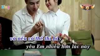[ Karaoke HD ] Hạnh phúc đơn giản lắm - Khắc Anh