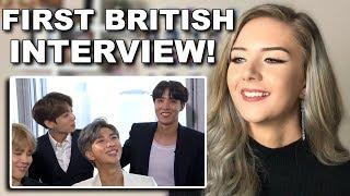 BTS take a british quiz reaction (Lorraine interview) // ItsGeorginaOkay