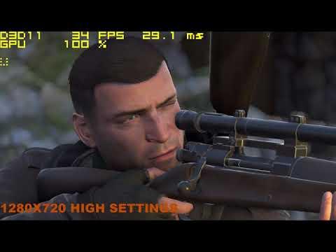 Sniper Elite 4 Gaming MX 130 Benchmark |