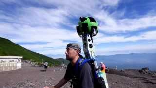 富士山をストリートビューする / Google Maps Street View of Mount Fuji thumbnail