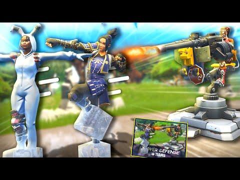Der *NEUE* TOWER DEFENSE Modus! - Fortnite Battle Royale (Neues Geschütz!)
