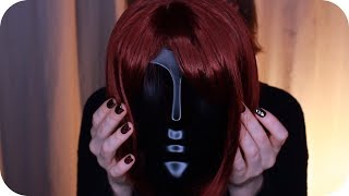 ASMR Dummy Head Tapping, Ear Cleaning Sounds, Tweezers, Hair Play // No Talking