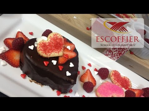 How To Make Heart Shaped Chocolate Cake with Mousse Filling