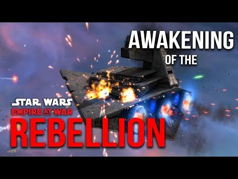 Star Wars Real Time Strategy (Ambush in the Asteroid Field) Ep 19