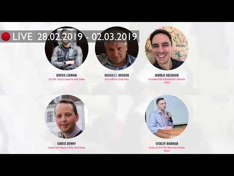 LIVE STREAM from EBIC-2019 on the Crypto Market News