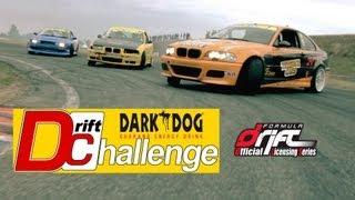 DRIFT CHALLENGE - DARK DOG Round4 | BATTLE Top 8 | Cousin VS Kauffmann