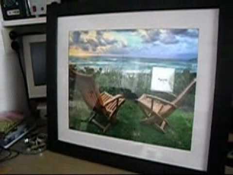 digitaler bilderrahmen selbst gebaut digital picture doovi. Black Bedroom Furniture Sets. Home Design Ideas