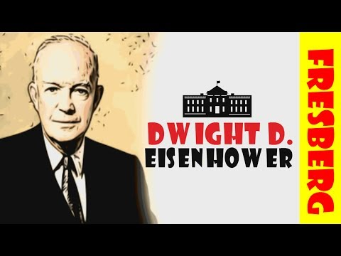 Who is Dwight D. Eisenhower (History for Kids): United States Presidents Educational Cartoon