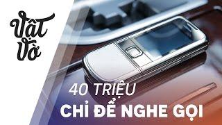 40 triệu chỉ để nghe gọi!!! Tuyệt tác sang chảnh Nokia 8800