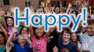 Happy! - Denver Public Schools Students, Teachers 'Clap Along' to Pharrell - Lip Dub