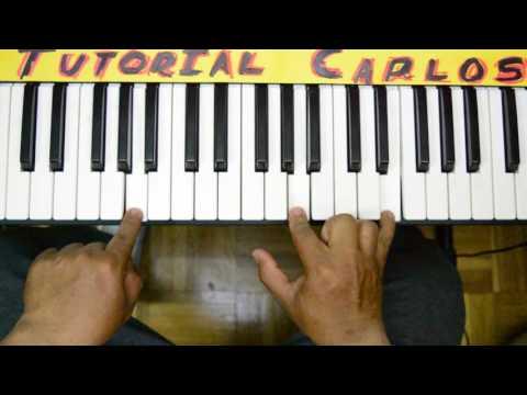 Tu nombre Miel San marcos - Tutorial Piano Carlos