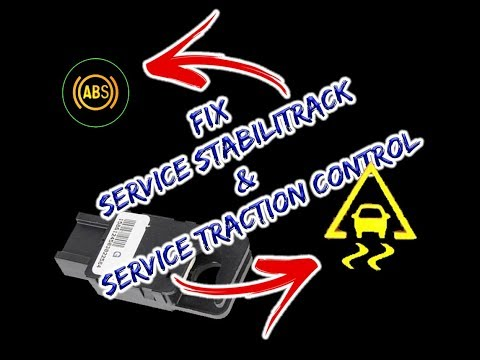 [SOLVED] Fix Service Stabilitrack and Service Traction Control on 2007-2011 GM Trucks