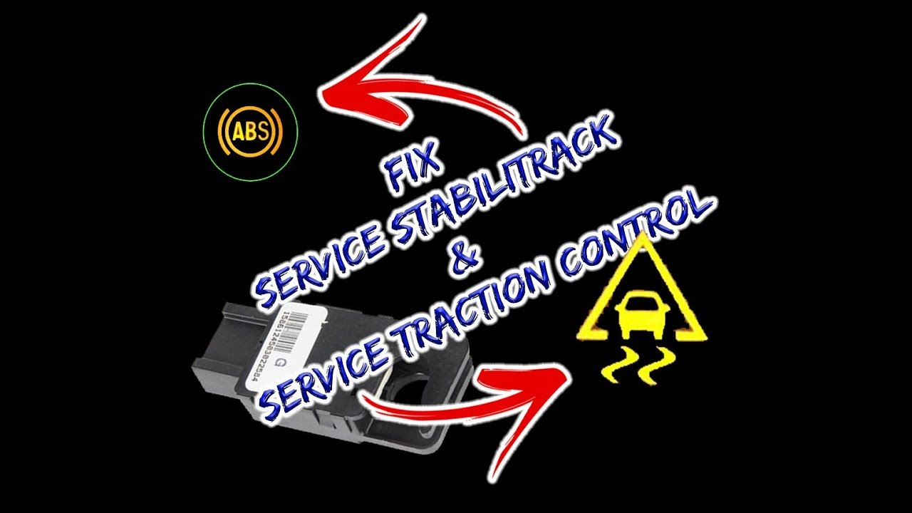 2008 Gmc Acadia Fuse Box Solved Fix Service Stabilitrack And Service Traction