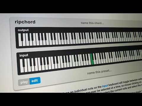 Trackbout released Ripchord free MIDI chord progression plugin