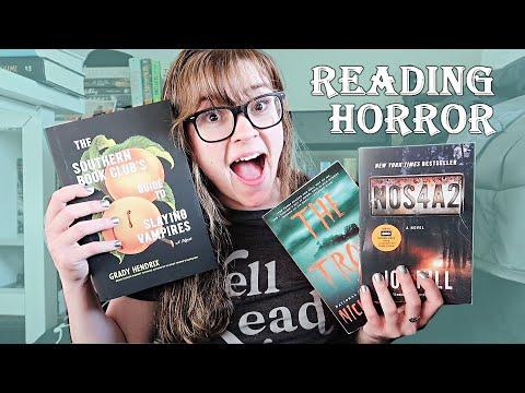 Reading Hyped Horror Books 🧛🏻♂️☠️ [Reading Vlog]