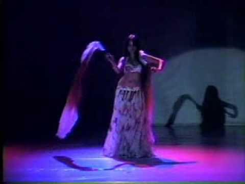 Fan Veil Belly Dance Nathasha Said