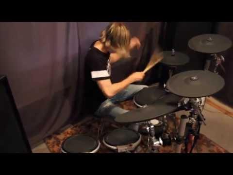 Blue Stahli - Disco Punks On Jolt (Drum Cover By Dima Davidson)