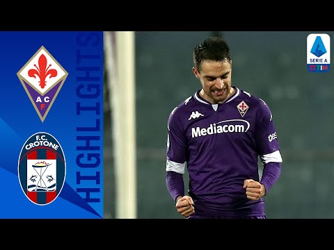 Fiorentina Crotone Goals And Highlights
