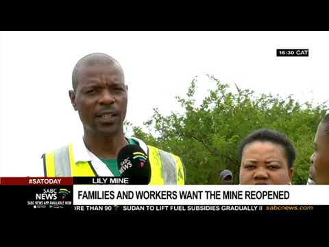 Lily Mine Workers Want It Reopened