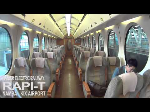 RAPIT NANKAI ELECTRIC RAILWAY (Osaka Namba to Kansai international airport)