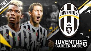 FIFA 16 | Juventus Career Mode S1E1 - EDEN HAZARD SIGNS FOR JUVENTUS!