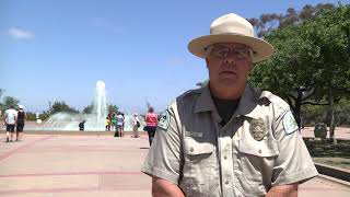Ep: 4 Balboa Park Ranger Tour - Bea Evenson Fountain