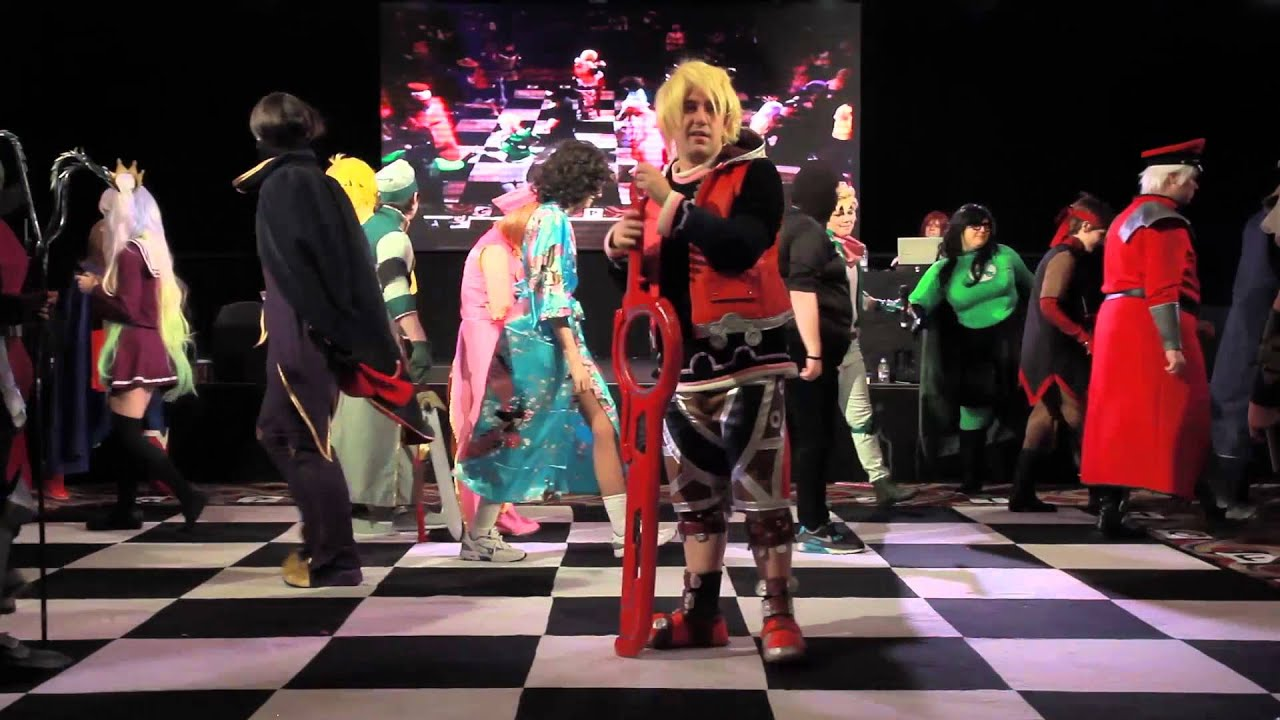 Cosplay Chess - Back to the KitaCon 2015 - YouTube