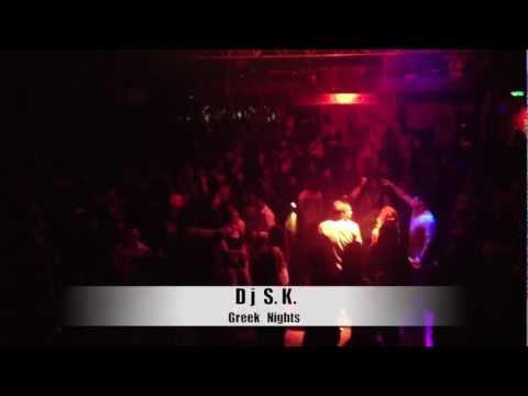 DJ SK Greek Nights @ Germany - Stuttgart 2013 Zapata Club !!!